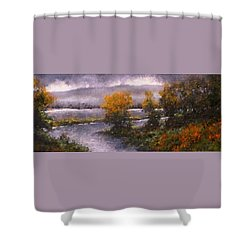 Woodland Bottoms Shower Curtain