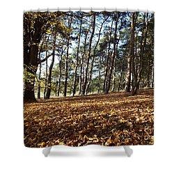 Woodland Carpet Shower Curtain