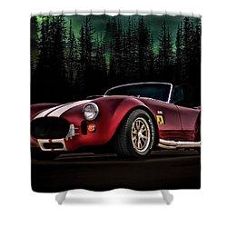 Woodland Cobra Shower Curtain by Douglas Pittman
