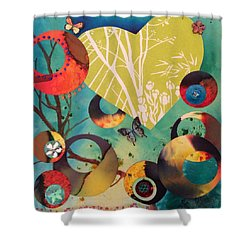 Woodland Dusk Shower Curtain