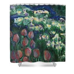 Woodland Field Shower Curtain