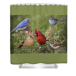 Woodland Friends Shower Curtain