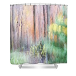 Woodland Hues 2 Shower Curtain
