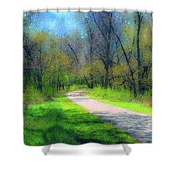 Woodland Trail Shower Curtain