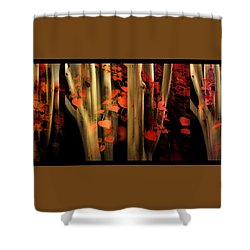 Shower Curtain featuring the photograph Woodland Whispers by Jessica Jenney