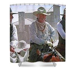 Woodrow - Gus - Jake Shower Curtain