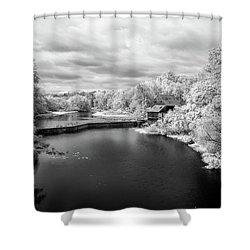 Woodson's Mill On The Little River Shower Curtain