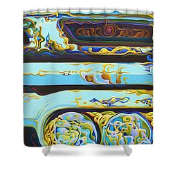 Woohooxidaisical Corrustination Shower Curtain