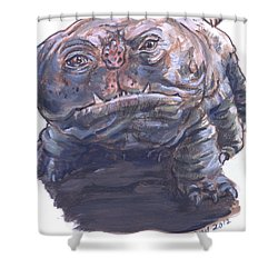 Woola Shower Curtain by Bryan Bustard