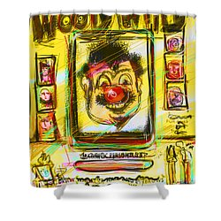 Wooly Willy Shower Curtain