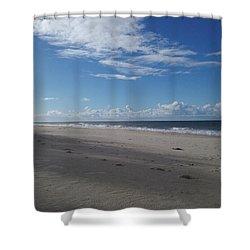 Woorim Beach Shower Curtain