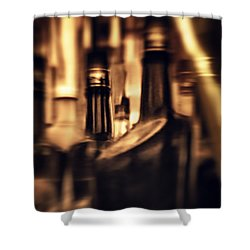 Woozy Shower Curtain