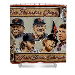 World Champs Shower Curtain
