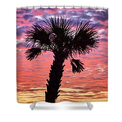World Famous Panama City Beach Shower Curtain