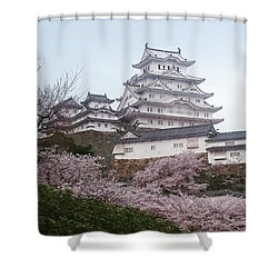 World Heritage  Shower Curtain