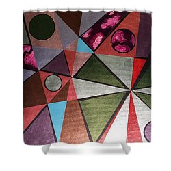 World In Mind Shower Curtain