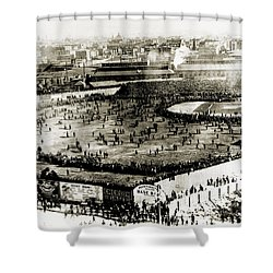 World Series, 1903 Shower Curtain by Granger