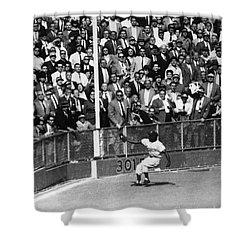 World Series, 1955 Shower Curtain by Granger