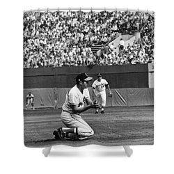 World Series, 1970 Shower Curtain by Granger