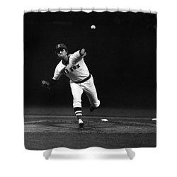 World Series, 1975 Shower Curtain by Granger