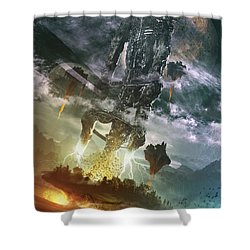 World Thief Shower Curtain