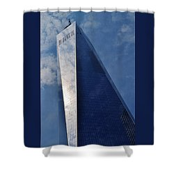 World Trade Center Shower Curtain