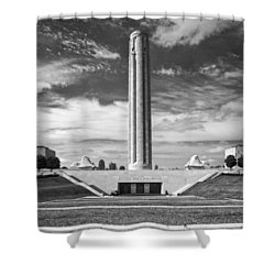 World War I Memorial And Museum Shower Curtain