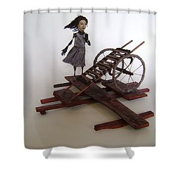 World Without End Shower Curtain