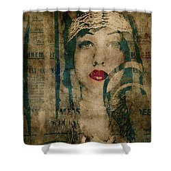 Shower Curtain featuring the photograph World Without Love  by Paul Lovering