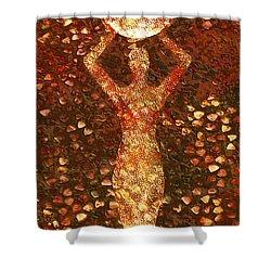 Worth Shower Curtain by Jacky Gerritsen