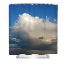 Worthing  Cloudscape1 Shower Curtain