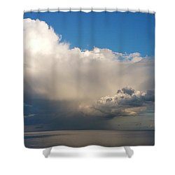 Worthing Cloudscape2 Shower Curtain