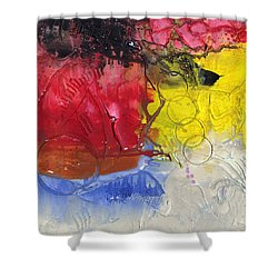 Wounded Shower Curtain by Phil Strang