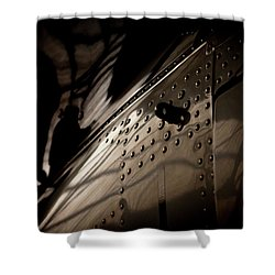 Wow, Look At The Reflections Shower Curtain by Paul Job