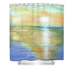 Wow Sunset Shower Curtain