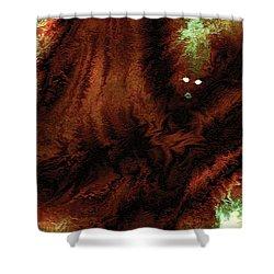 Wraith Shower Curtain by Paula Ayers