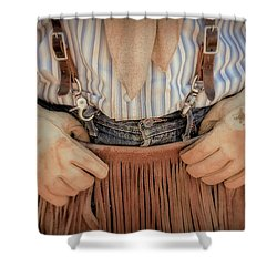 Wrangler Hands 2 Shower Curtain