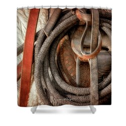 Wrangler Tools Shower Curtain