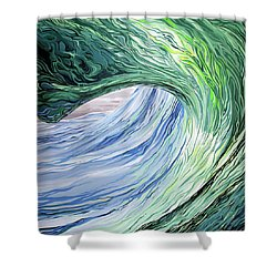 Wrap Around Shower Curtain