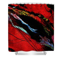 Wrap It Up Winter Shower Curtain by Lisa Kaiser