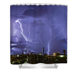 Wrath Of Gods Shower Curtain