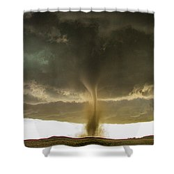 Wray Colorado Tornado 060 Shower Curtain