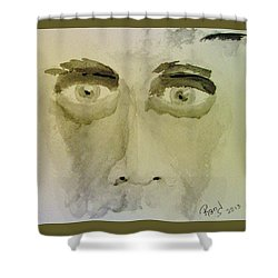 Wreck Of The Hesperus Shower Curtain
