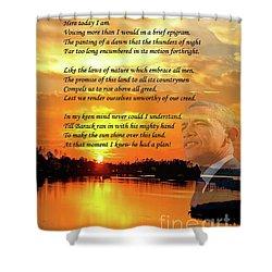 Writer, Artist, Phd. Shower Curtain