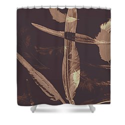 Writers Guild Abstract Shower Curtain
