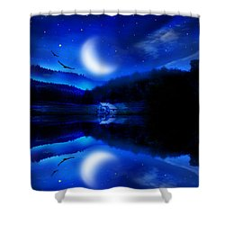Written In The Stars Shower Curtain