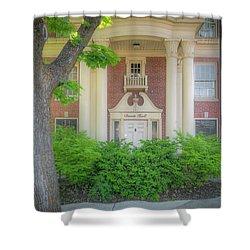 Wsu Davis Hall Shower Curtain