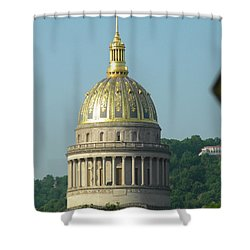 Wv State Capital Building  Shower Curtain
