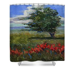 Wyoming Gentle Breeze Shower Curtain