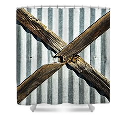 Shower Curtain featuring the photograph X Marks The Spot by Karol Livote